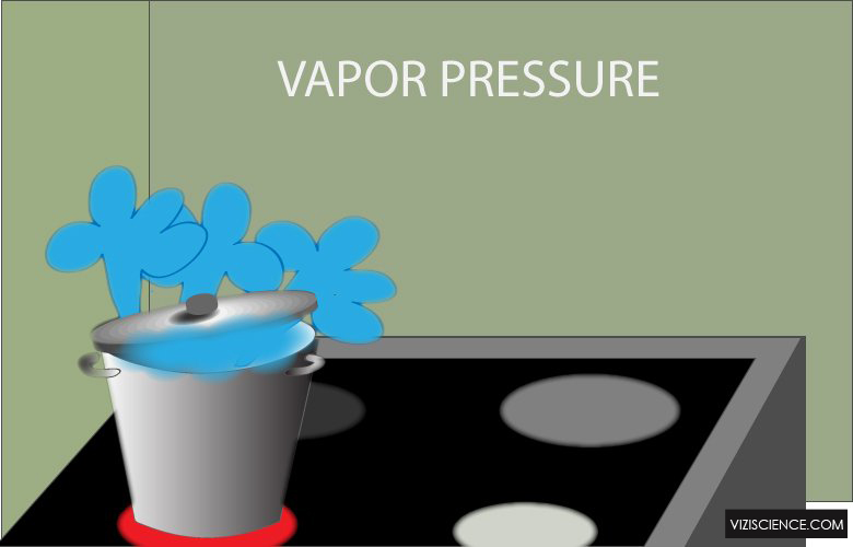 What is vapor pressure?