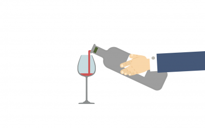 Why wine turns sour when exposed to air?