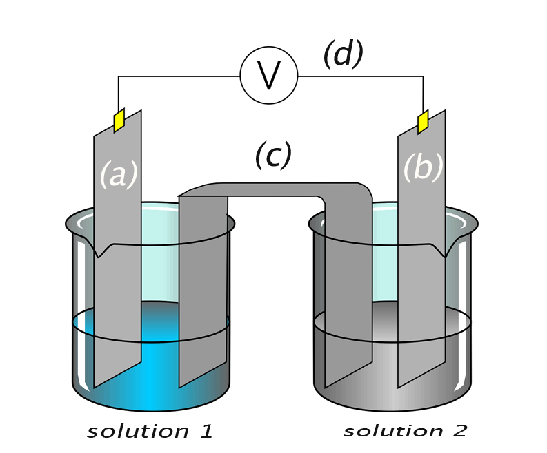 What's the purpose of the salt bridge in a galvanic cell or voltaic cell - AP chemistry
