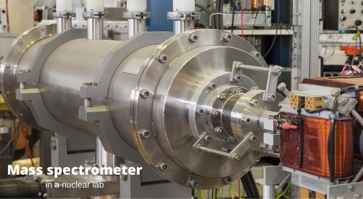 A mass spectrometer